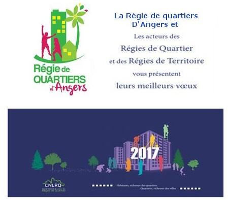 Voeux 2017 de la Régie de Quartier d'Angers