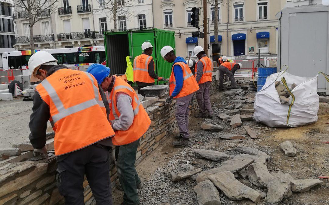 La Régie de Quartiers d'Angers au cœur du Centre Ville d'Angers.